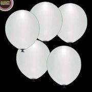 LED Ballons Weiß 15er Pack