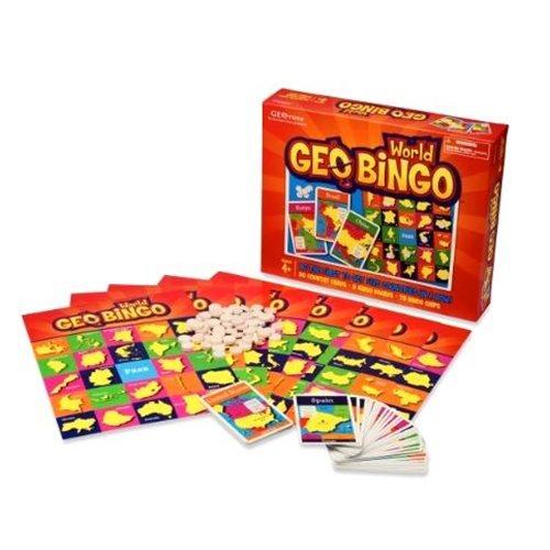 GEOtoys - GeoBingo Wereld (ENG)