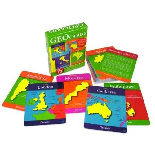 GeoCards Wereld (ENG)