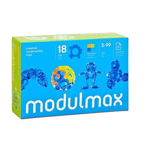 Modulmax Bouwblokken - Doos met 18 stukjes