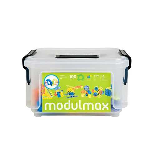 Modulmax Bauklötze - Aufbewahrungsbox mit 100 Stück