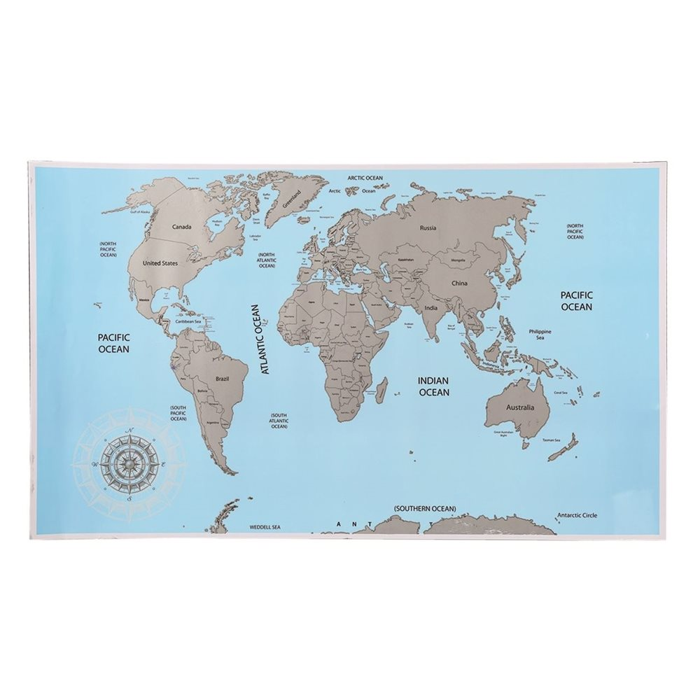 Scratch World Map