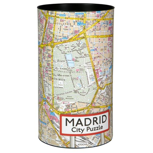 Madrid City Puzzel