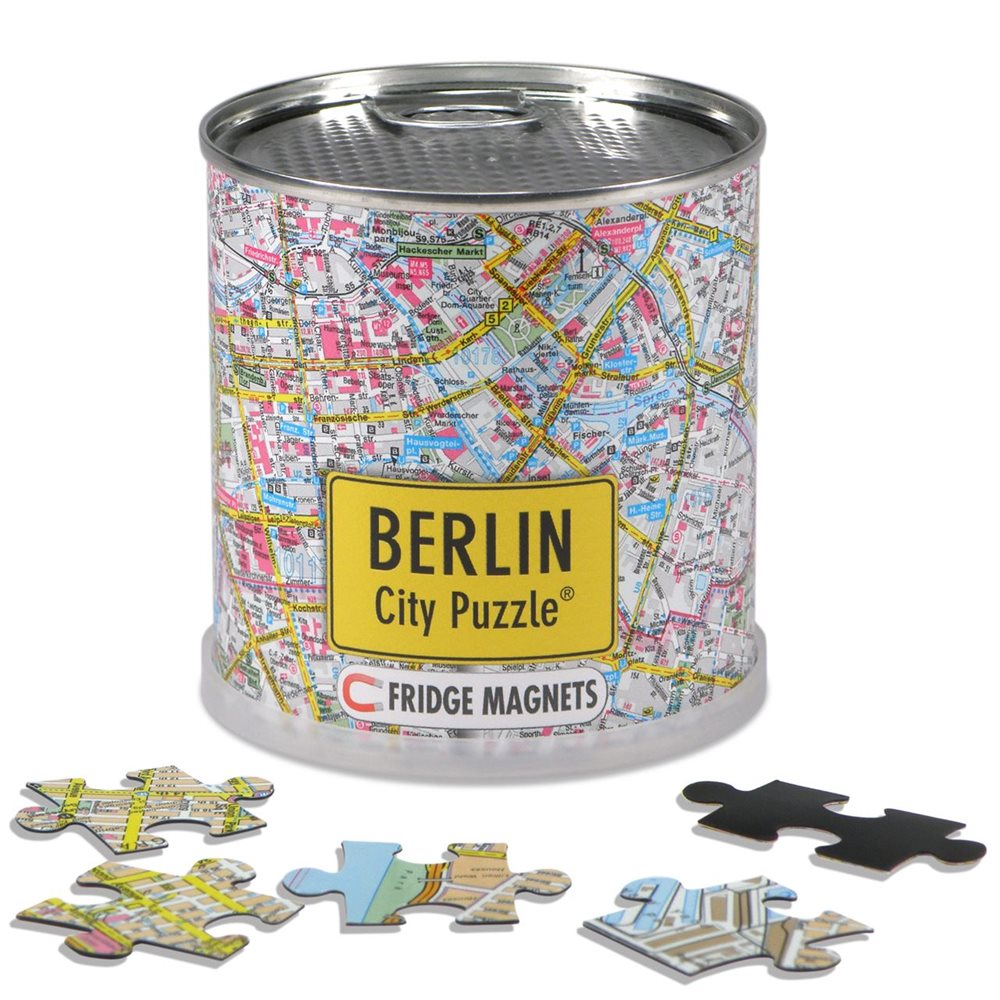 Berlin City Puzzle Magnets