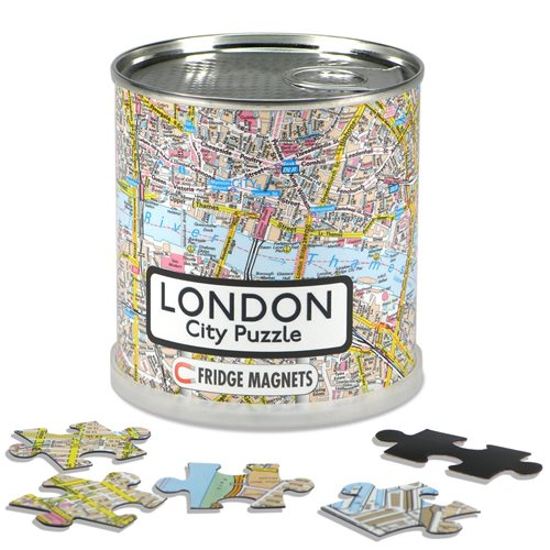 London Stadt Puzzle Magnet