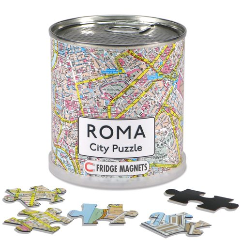 Roma City Puzzle Magnets