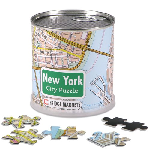 New York City Puzzle Magnete