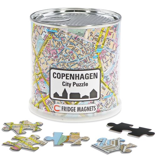 City Puzzle Magnets - Copenhagen