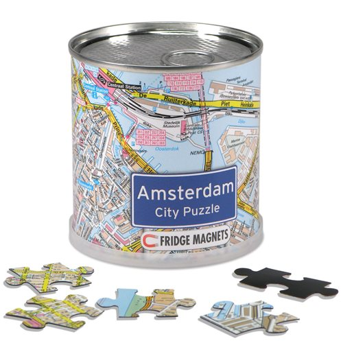 Amsterdam Stadt Puzzle Magnete