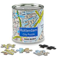Rotterdam City Puzzle Magnets