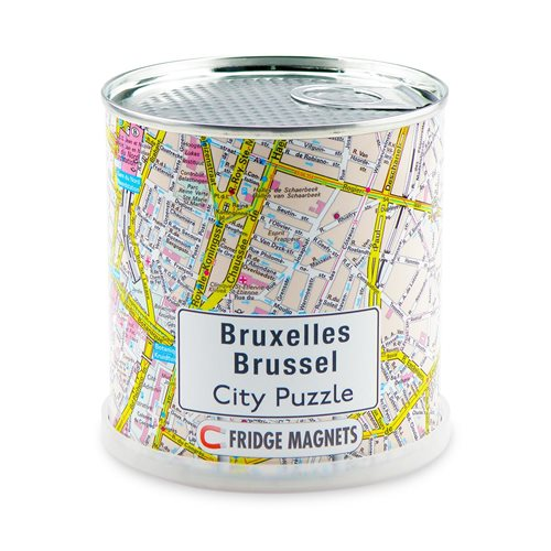 City Puzzle Magnets - Brussel