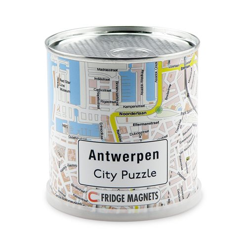 City Puzzle Magnets - Antwerpen