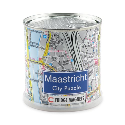 City Puzzle Magnete - Maastricht