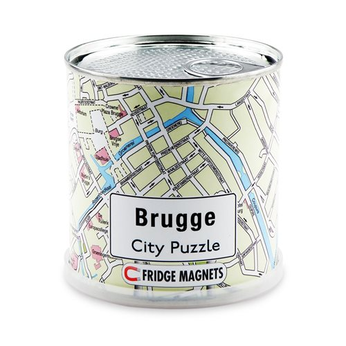 Brugge City Puzzle Magnets
