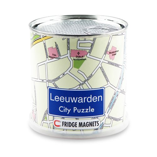 City Puzzle Magnets - Leeuwarden