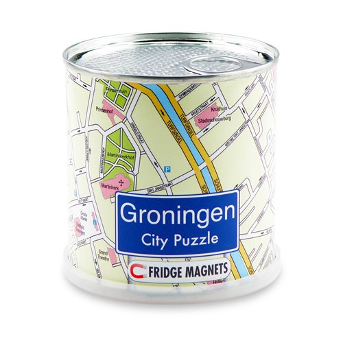City Puzzle Magnets - Groningen