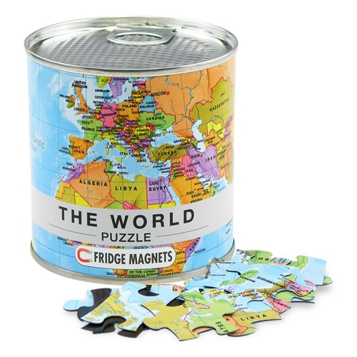 The World City Puzzle Magnets (ENG)