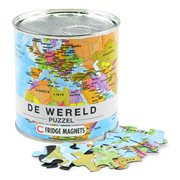 The World City Puzzle Magnets (NL)