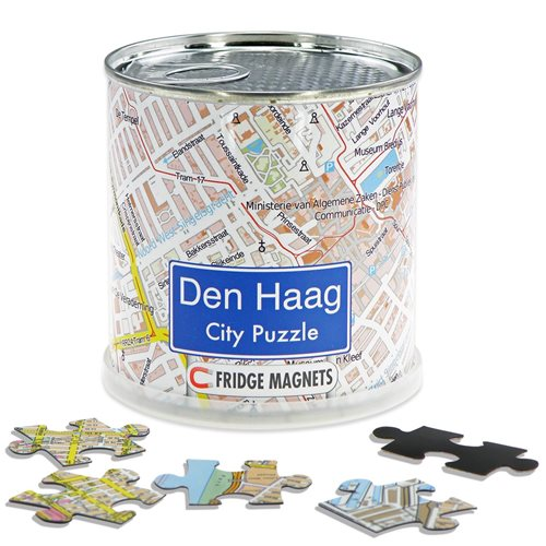 City Puzzle Magnets - Den Haag
