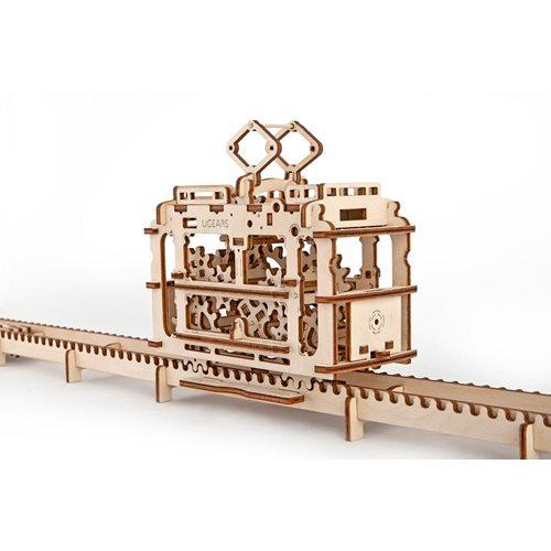 Ugears Houten Modelbouw - Tram