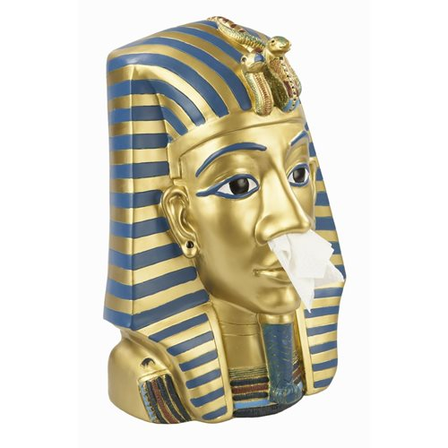 Rotary Hero King Tut Tissue Box Halter