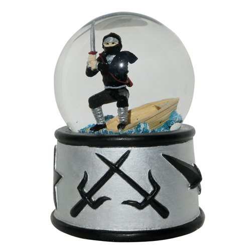 Rotary Hero Snow Globe - Ninja with Sound