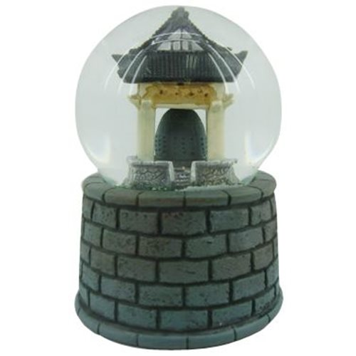 Rotary Hero Snow Globe - Tempel Bell with Sound