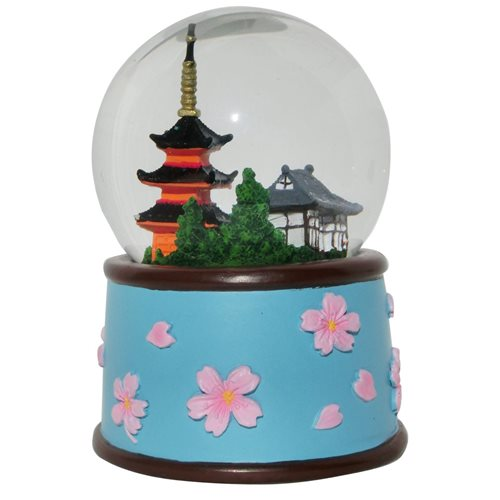 Rotary Hero Snow Globe - Kyoto with Sound