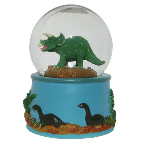 Rotary Hero Snow Globe - Dino with Sound