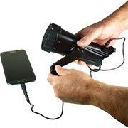 PowerPlus Shark - Dynamo LED Flashlight and Emergency Charger - Waterproof