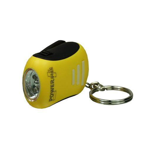 PowerPlus Bee - Mini Dynamo LED Taschenlampe - Biene