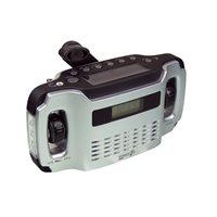 PowerPlus Lynx - Dynamo Solar USB AM/FM Radio - 5 in 1