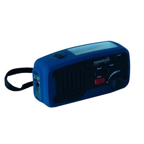 PowerPlus Panther - Dynamo Solar USB Multifunctionele FM Scan Radio - 5 in 1