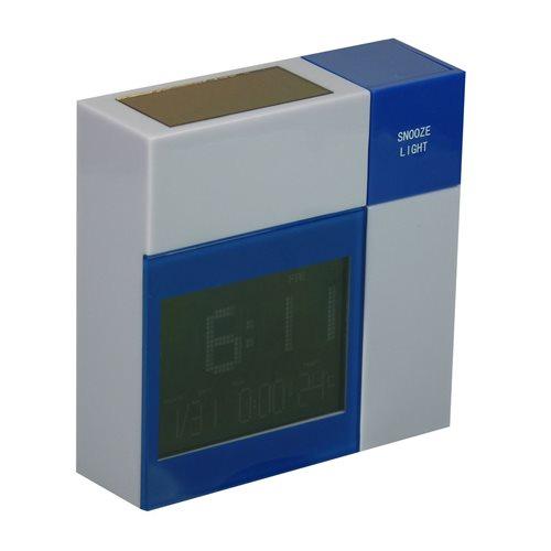 PowerPlus Racoon - Solar USB LCD Alarmklok