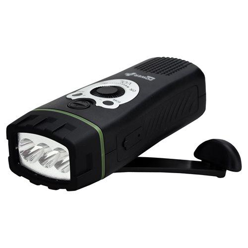 PowerPlus Wolf - Dynamo USB Taschenlampe und FM Radio