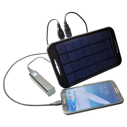 PowerPlus Camel - Solar USB Power Bank - 2 x USB 5V Output