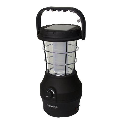 PowerPlus Hippo - 24 LED Solar Dynamo USB Camping Lantern