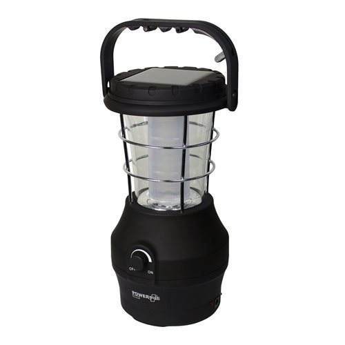 PowerPlus Hippo - 24 LED Solar Dynamo USB Camping Lanterne