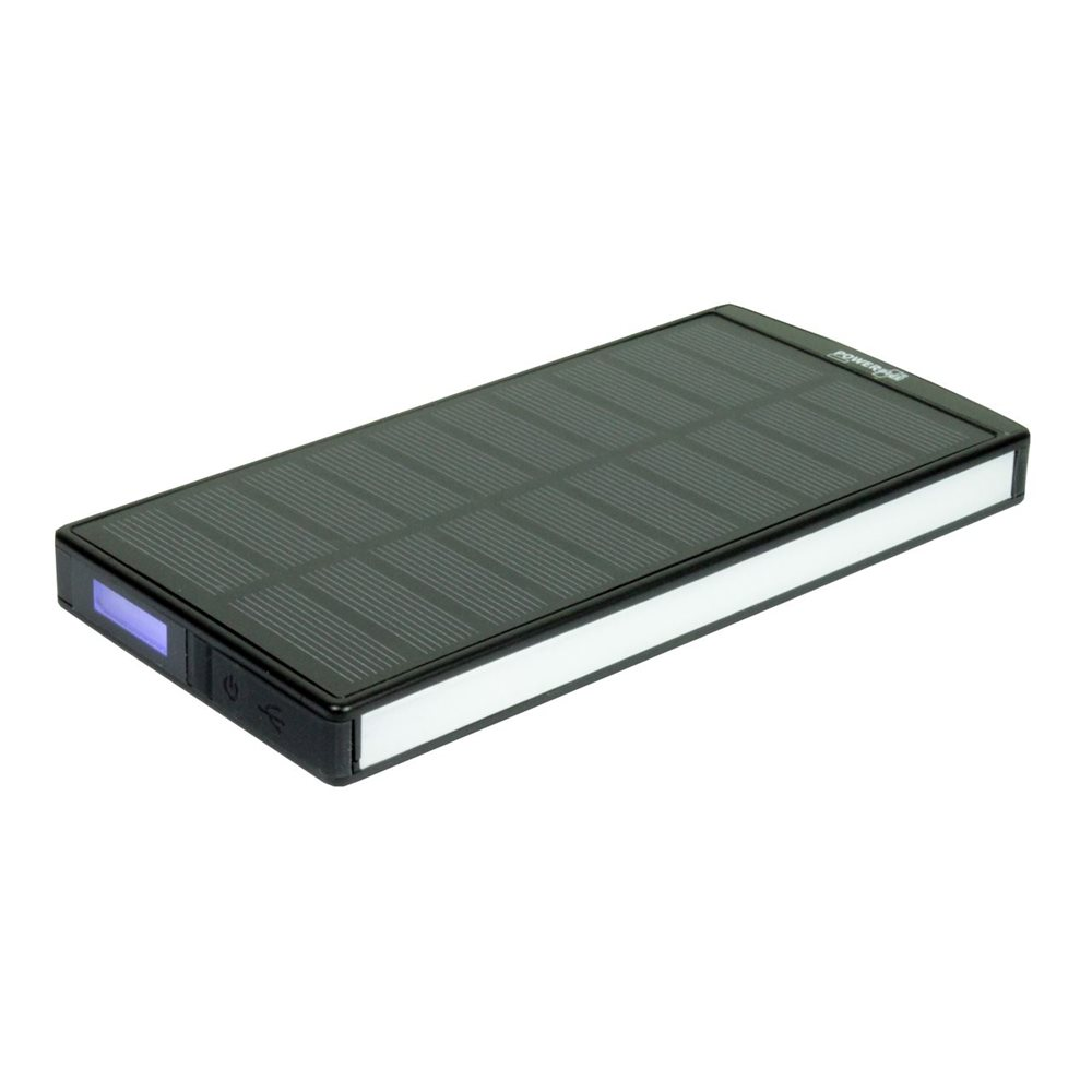 PowerPlus Sephia - Solar USB Power Bank - 9000 mAh - 30 LED Light Strip