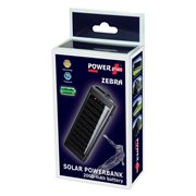 PowerPlus Zebra - Solar USB Power Bank - 2000 mAh