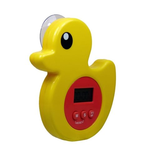 EcoSavers - Shower Timer Duck - Digital LCD Shower Timer with Alarm - Water Saving
