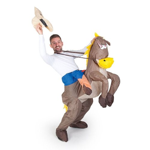 Opblaasbaar Cowboy Kostuum Verkleedpak