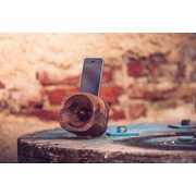 Trobla Holz Verstärker - iPhone 5 (s/se) + iPod Touch 5/6 - Walnuss