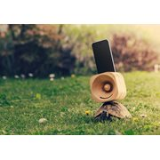 Trobla Holz Verstärker - iPhone 6 (s) Plus/iPhone 7 Plus/iPhone 8 Plus/iPhone XS Max - Ahorn
