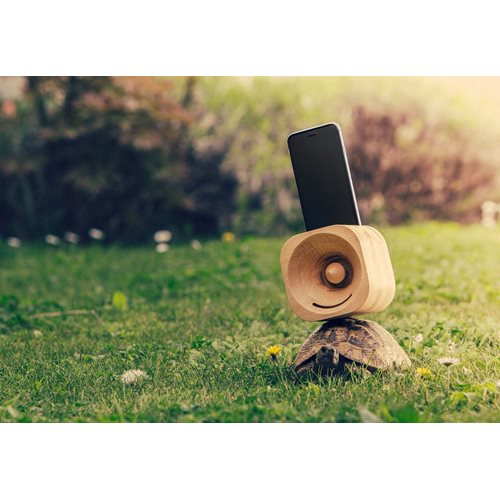 Trobla Wooden Amplifier - iPhone 6 (s) Plus/iPhone 7 Plus/iPhone 8 Plus/iPhone XS Max - Maple