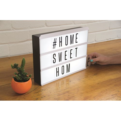 Fizz Creations Light Box Message Board with LED Lights
