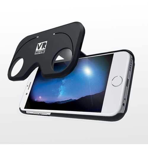 VR Insane Virtual Reality Bril en Telefoonhoes Flip - iPhone 6+