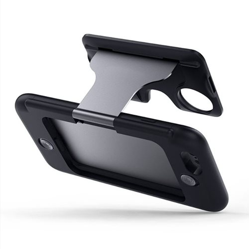 VR Insane Virtual Reality Bril en Telefoonhoes Flip - iPhone 6
