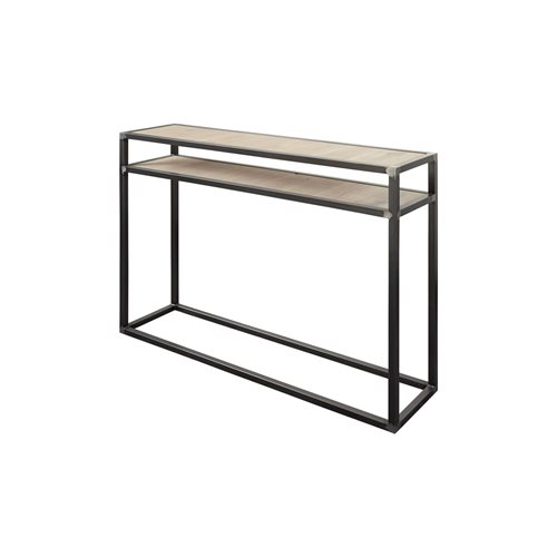 Spinder Design Diva Side Table 30x120x90 - Blacksmith/Oak