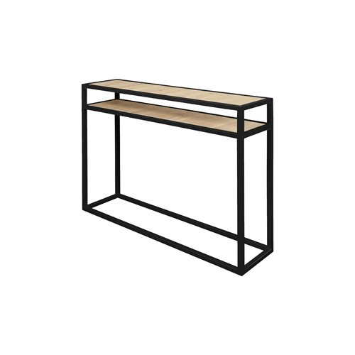 Spinder Design Diva Side Table 30x120x90 - Black/Oak